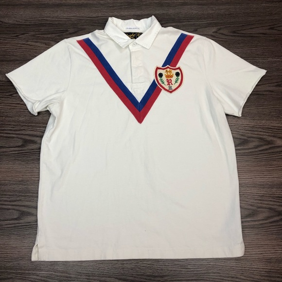 Polo by Ralph Lauren Other - Polo Ralph Lauren Rugby White Crest Shirt L